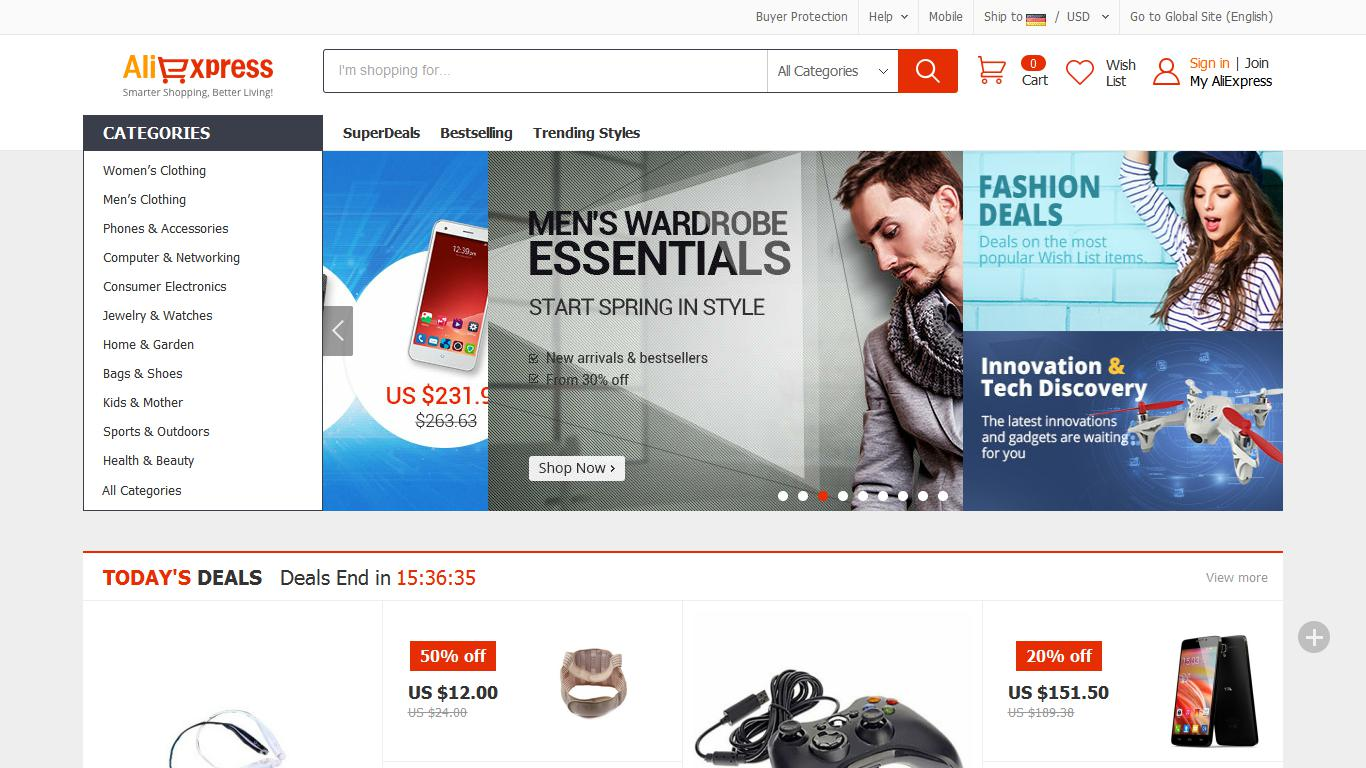 Aliexpress Index